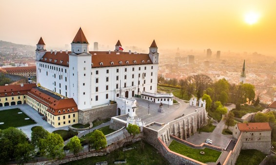 The 5 most beautiful places in Bratislava